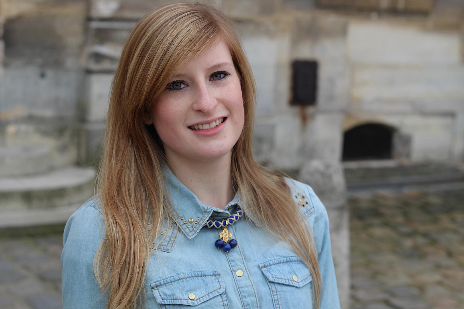 jeans blouse Paris