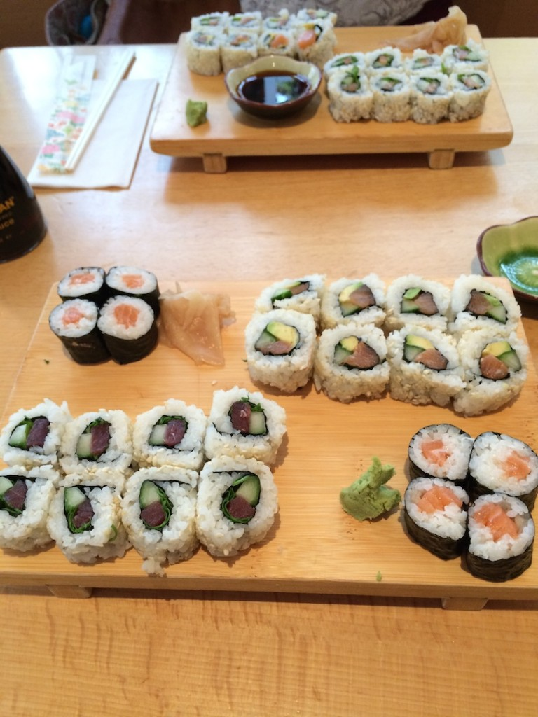 Another sushi time this month - this time at Ichiban Sushibar in Bonn.