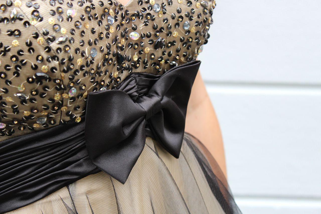 Details Perlen Schleife