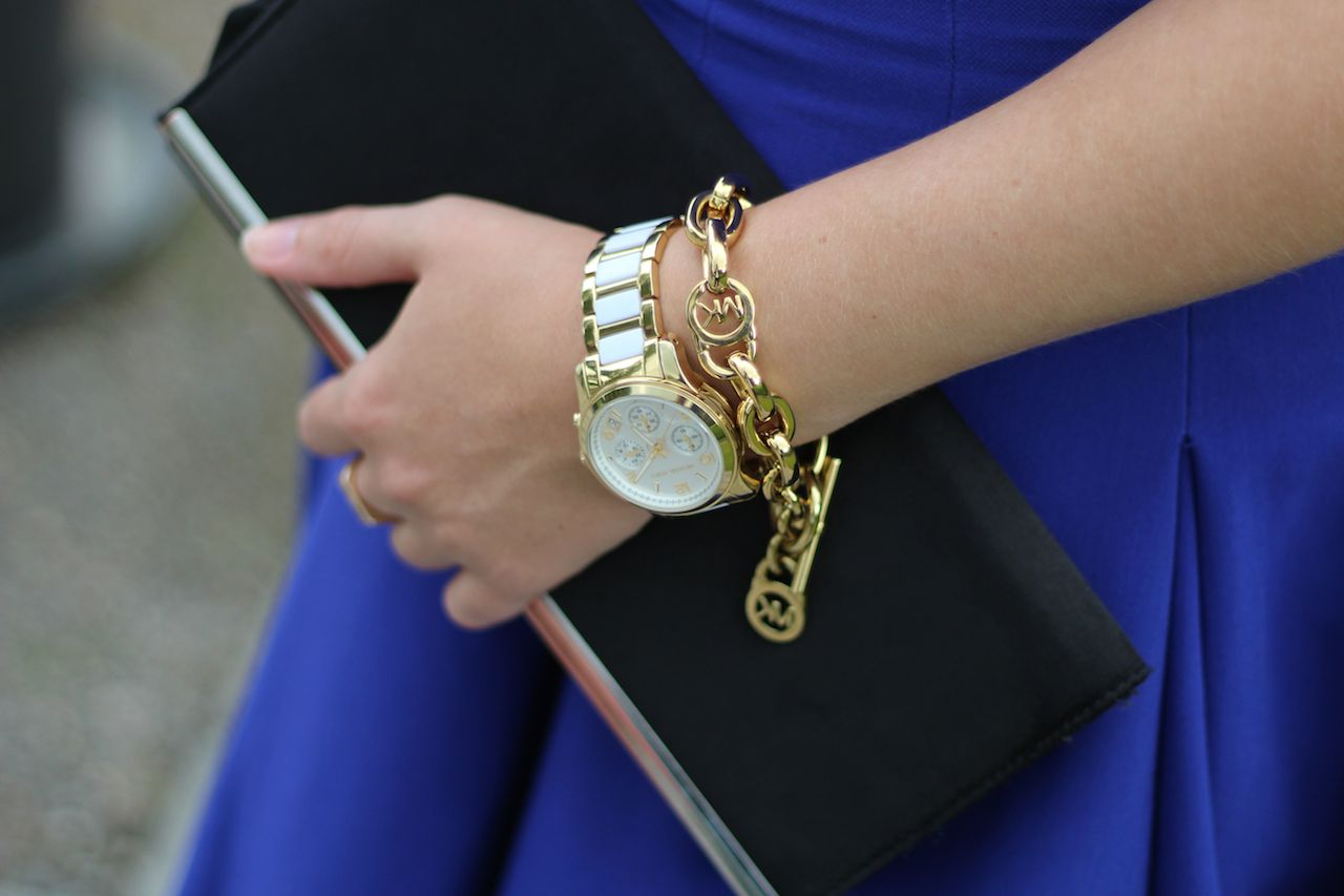 schwarze Clutch Michael Kors Armband Gold Michael Kors Armbanduhr Damen gold weiß