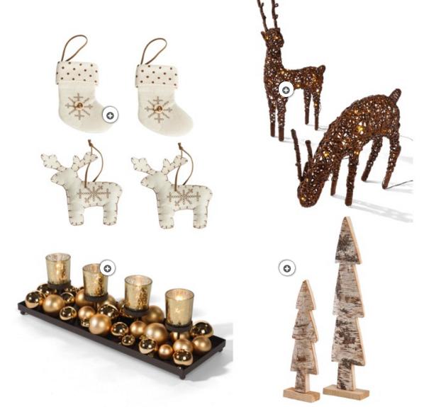 Weihnachtsdeko Holz Inspiration Interior Shopping richtig dekorieren 2