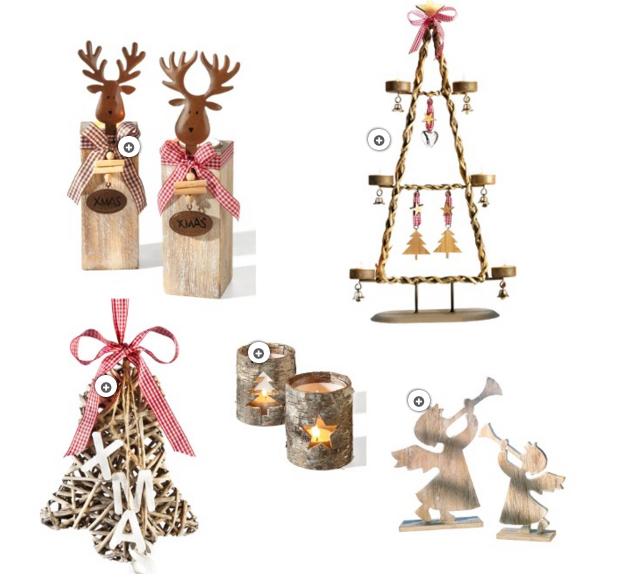 Weihnachtsdeko Holz Inspiration Interior Shopping richtig dekorieren