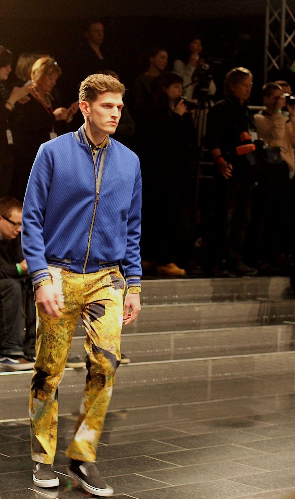 3 Kilian Kerner Fashion Show Herbst:Winter 2015 Show Mann