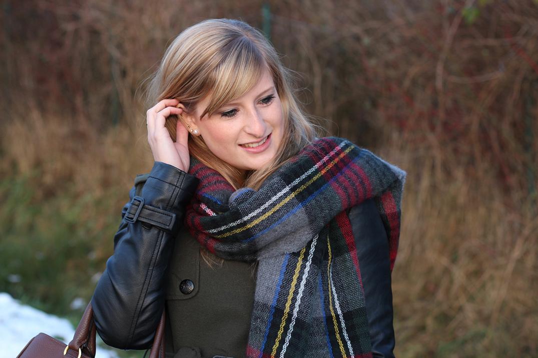 6 Karierter Schal Fashion Blog Brini