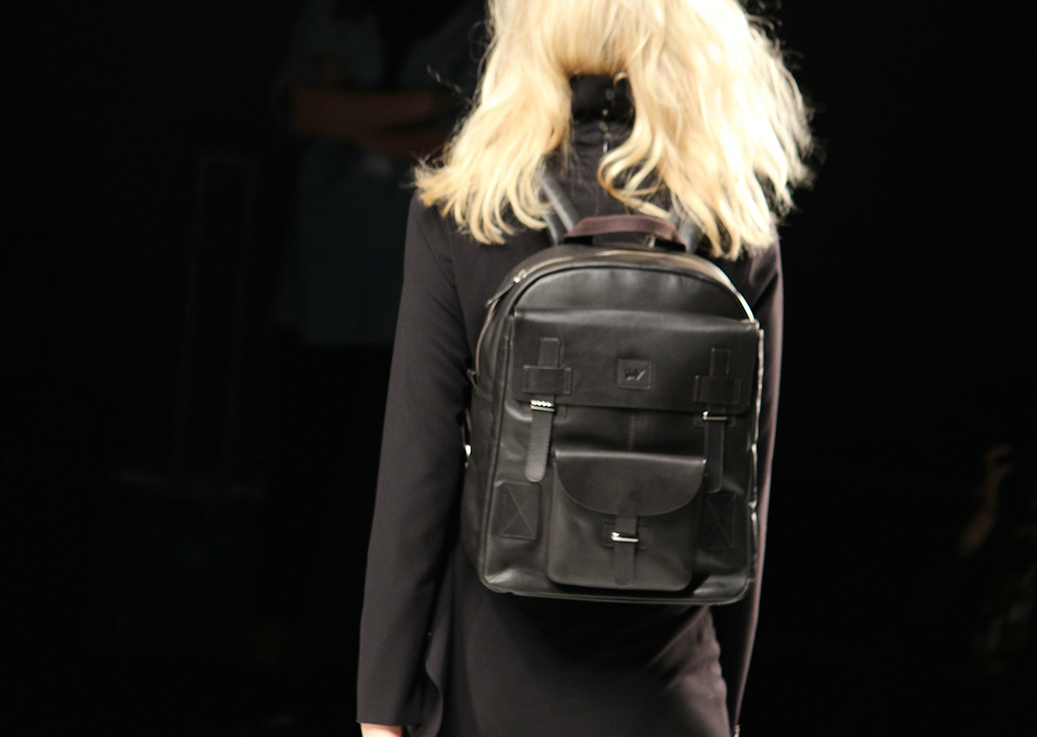 7 Anja Gockel Fashion Week Berlin Show 2015 Rucksack