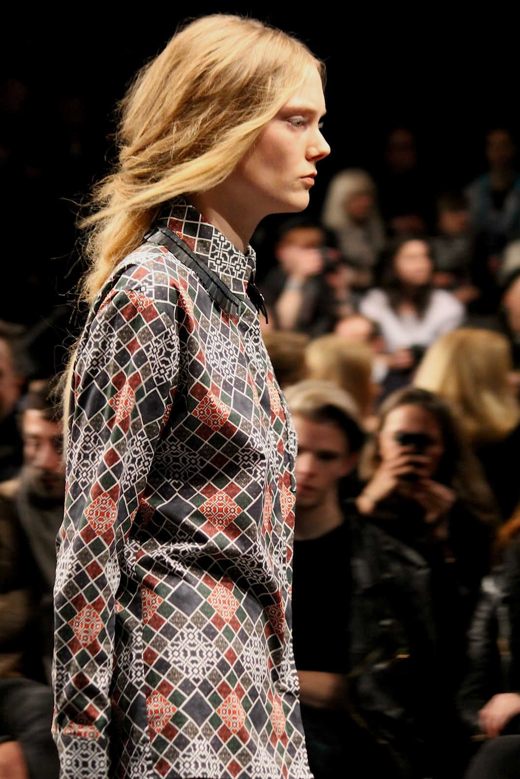 8 Kilian Kerner Fashion Show Herbst:Winter 2015 Show Kleid