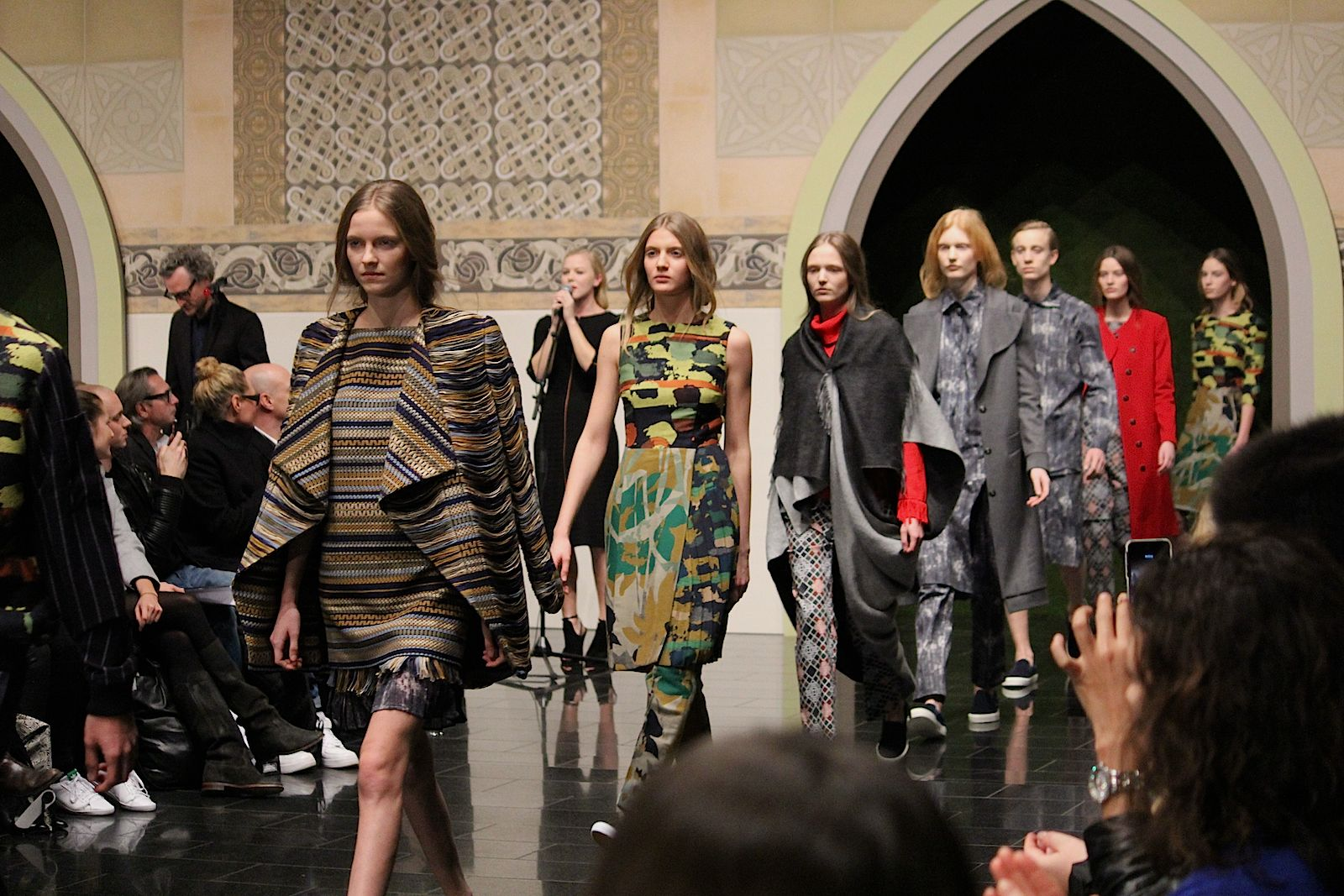 94 Kilian Kerner Fashion Show Herbst:Winter 2015 Show Finale