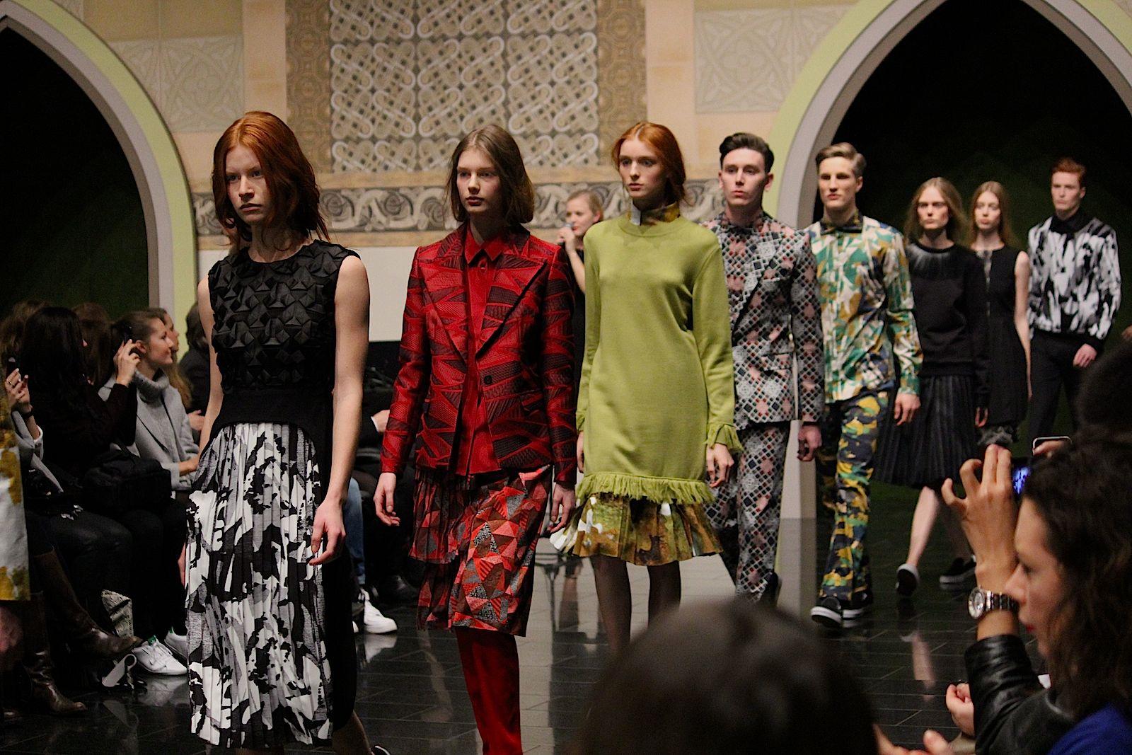 95 Kilian Kerner Fashion Show Herbst:Winter 2015 Show Finale