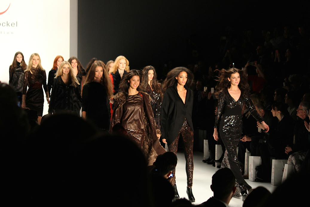 991 Anja Gockel Fashion Week Berlin Show 2015 Finale Models
