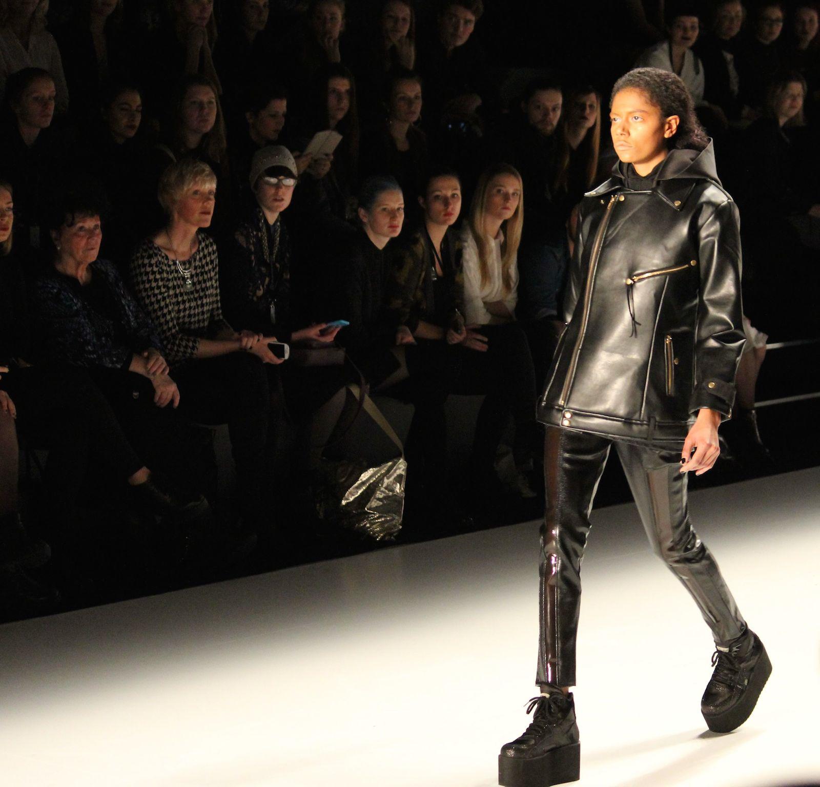Pearly Wong Fashion Week Autumn:Winter 2015 Lederlook