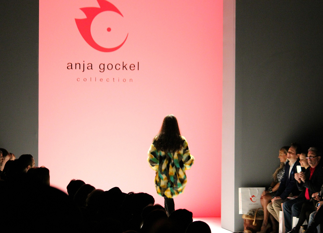 Titel Anja Gockel Fashion Show