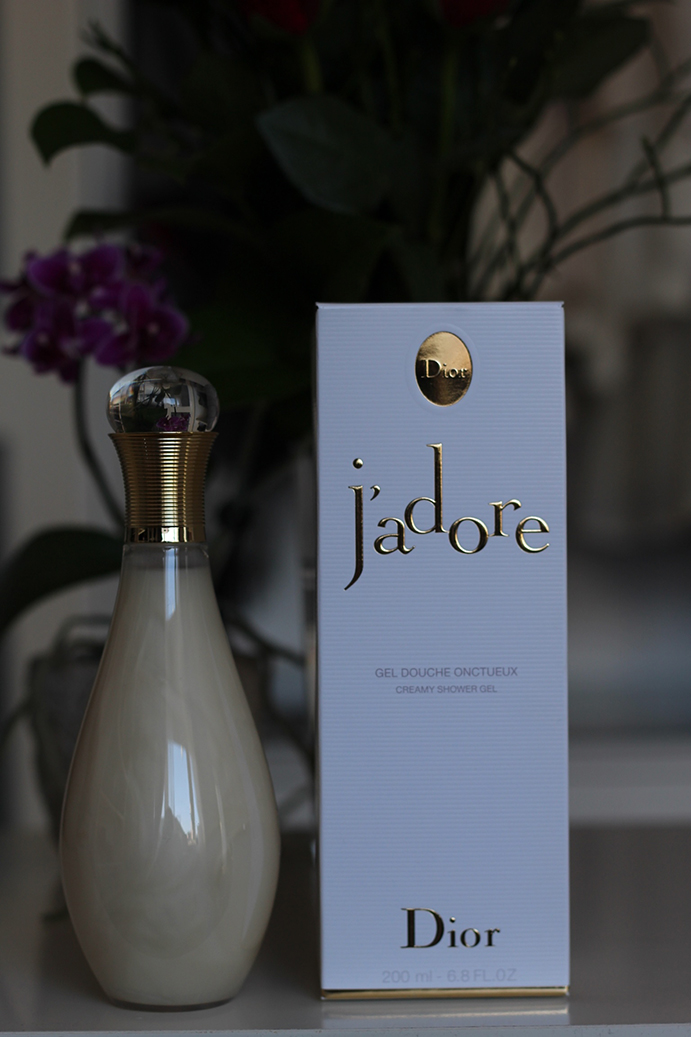 4 Shower Gel Dior J'adore Beautyblog Flasche
