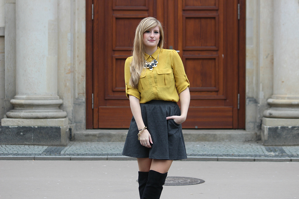 91 Outfit Overknees Berlin Fashion Week Streetstyle