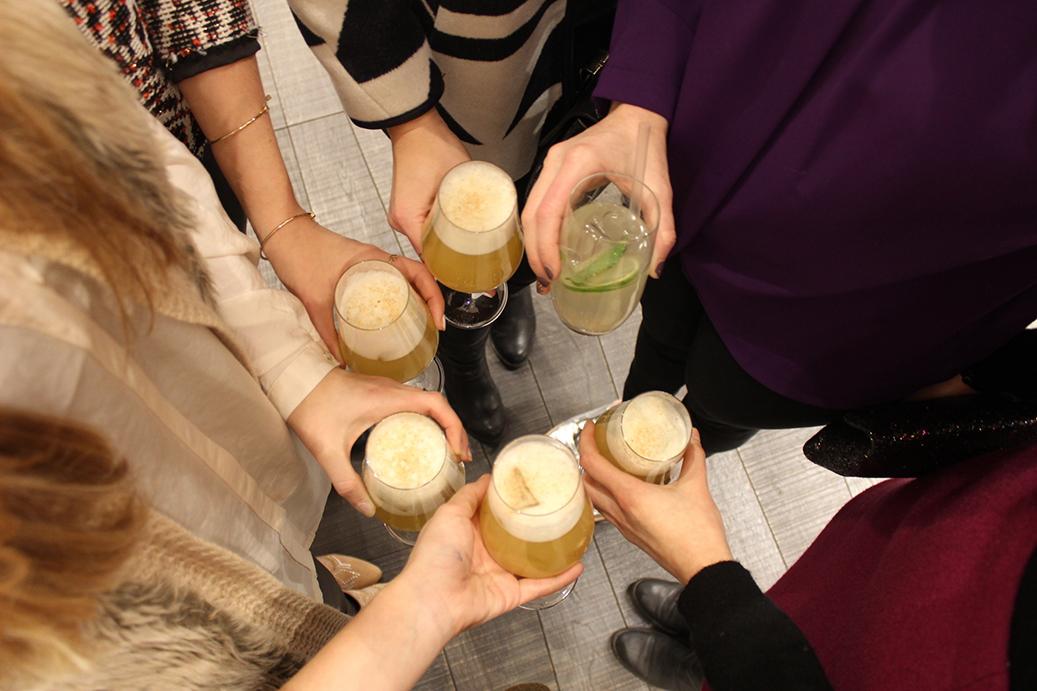 95 Marc Cain Shop Event Köln Fashion Blog Drinks