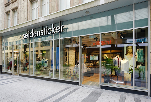 1 Seidensticker Store Eröffnung Köln Shopping Event