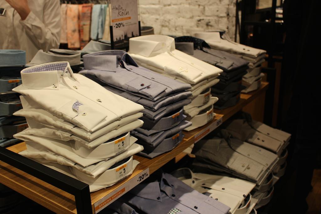 2 Seidensticker Store Eröffnung Köln Interior Hemden Blog