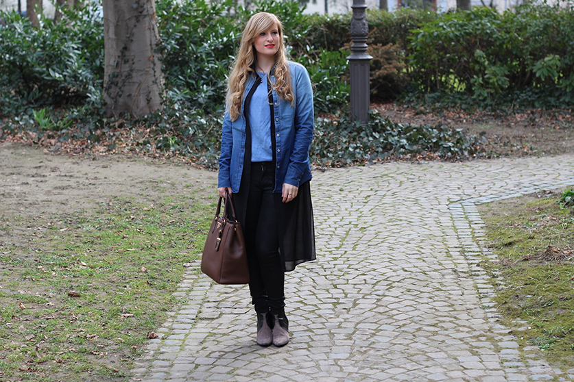6 Jeans Look Mode Blog New Look Jeans mit Jeans kombinieren Outfit