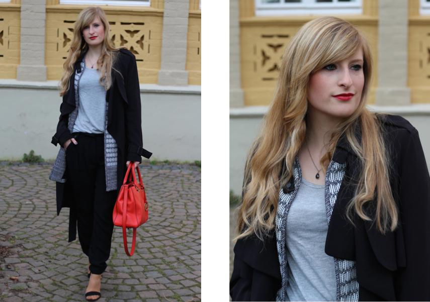 7 Trenchcoat Layering Badge Hose Fashion Blog Cologne