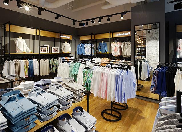T Seidensticker Store Eröffnung Köln 2015 Blusen Damen