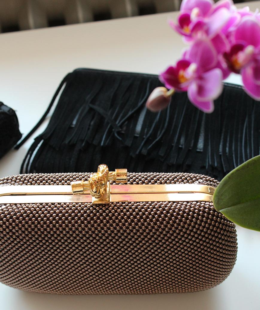 2 What's in my bag? Clutch Inhalt Mode Blog