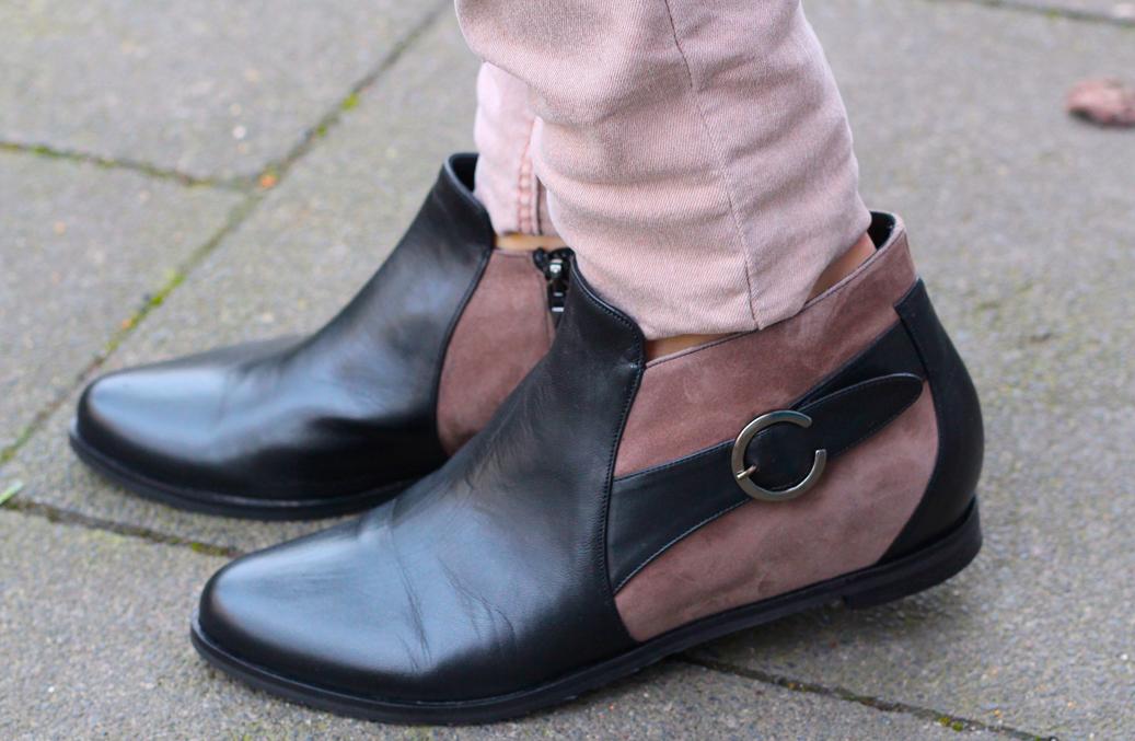 4 schwarz braun Boots