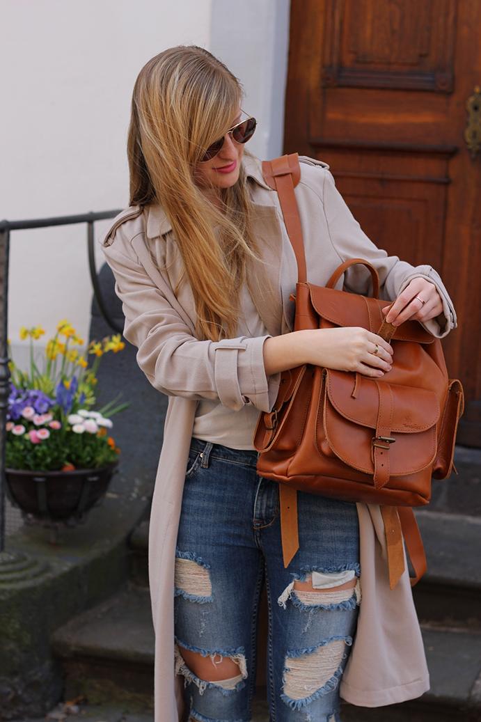 7 Zara Ripped Jeans streetstyle blog köln