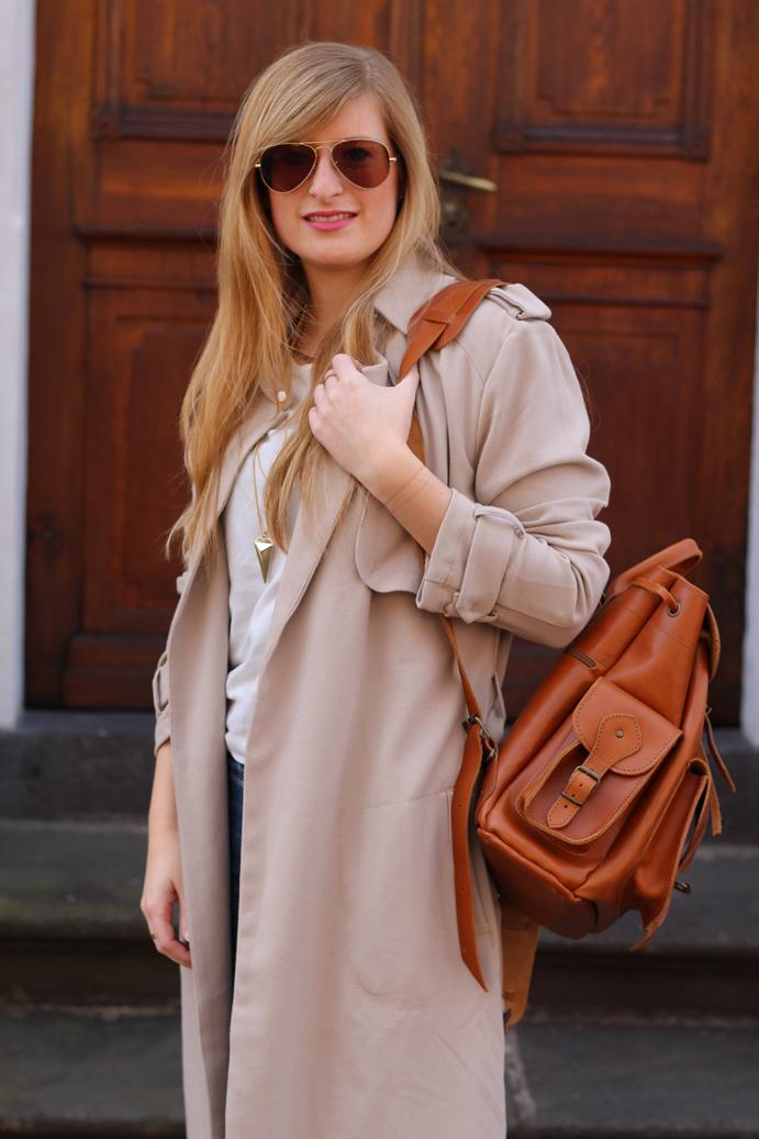 Streetstyle Blog Bonn Trench coat beige Tom Tailor