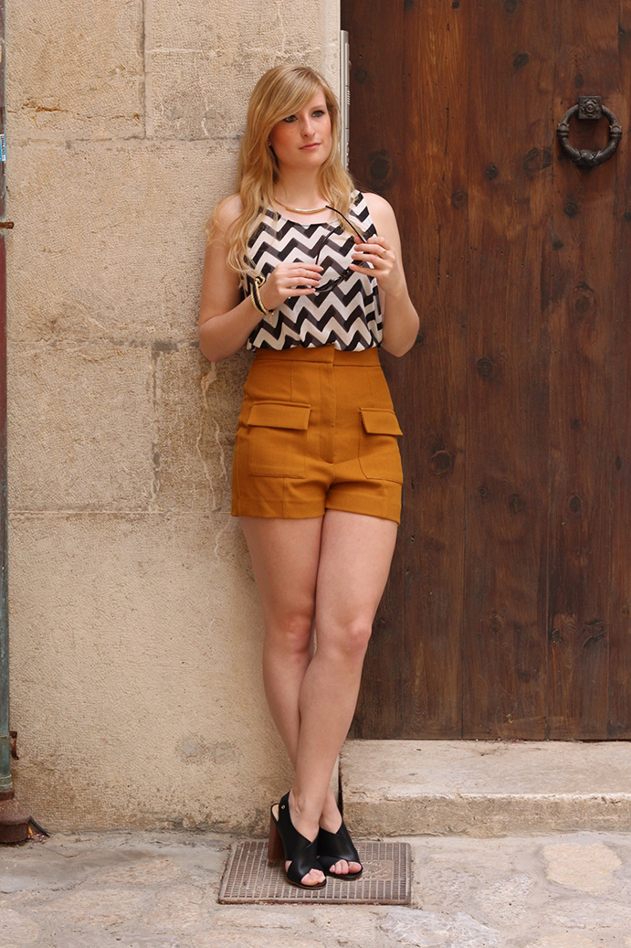 1 Streetstyle Mallorca High Waist Outfit Blog