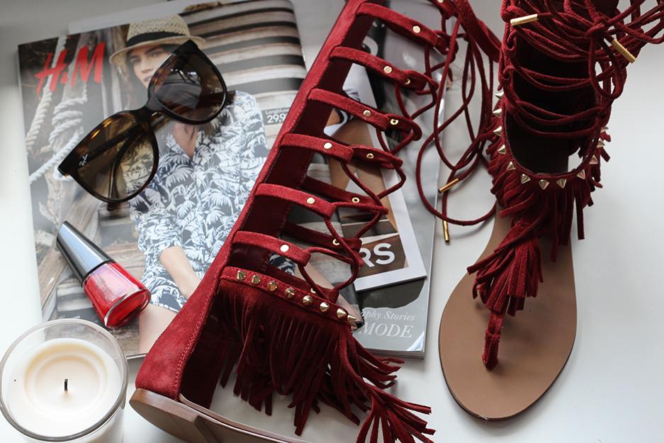 3 Sommertrend 2015 Gladiator Sandalen Fashion Blog