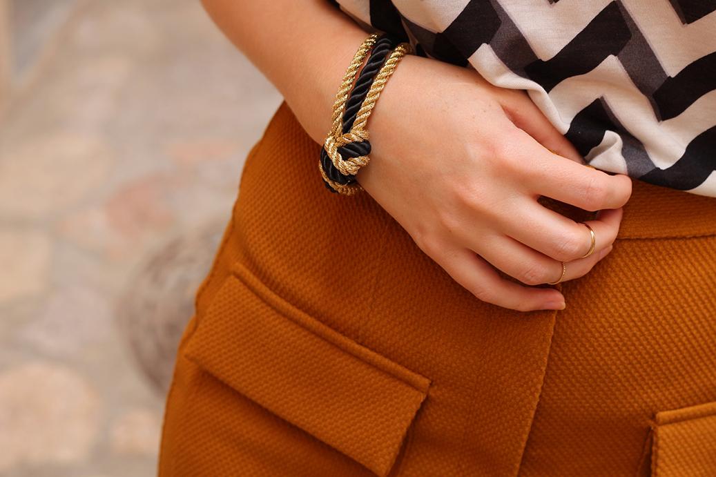 4 Mallorca High Waist Shorts Armband Mode Blog