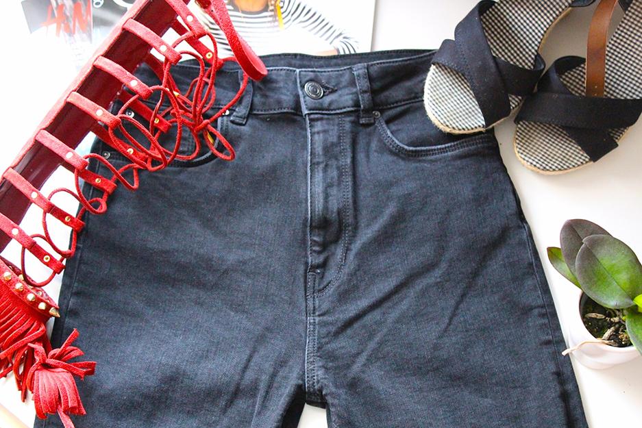 4 Sommertrend 2015 High Waist Hose Zara Fashion