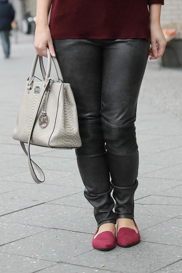 Geschäft 2019 am besten anerkannte Marken 5 Blogger mode blog zara lederhose - BrinisFashionBook
