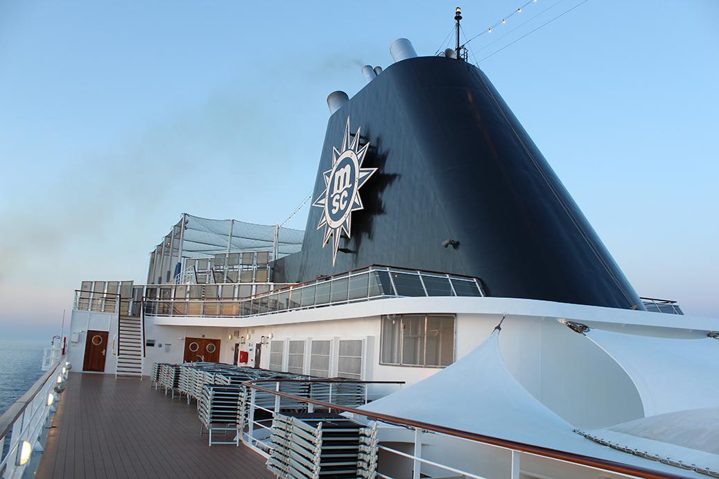 Titel MSC Kreuzfahrt Mittelmeer Erfahrungen Schiff Armonia