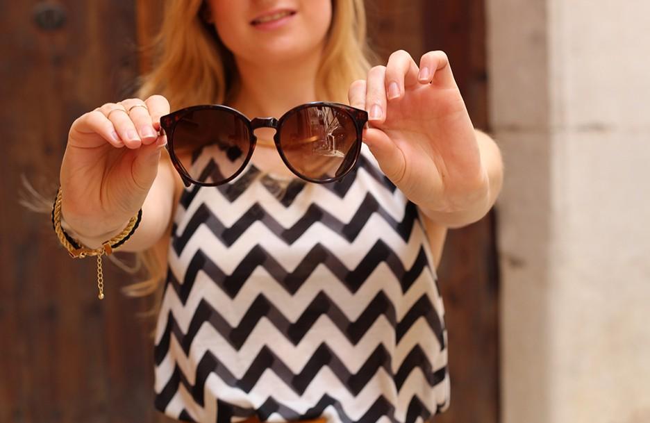 Outfit | Mallorca mit High Waist und Sonnenbrille bereist