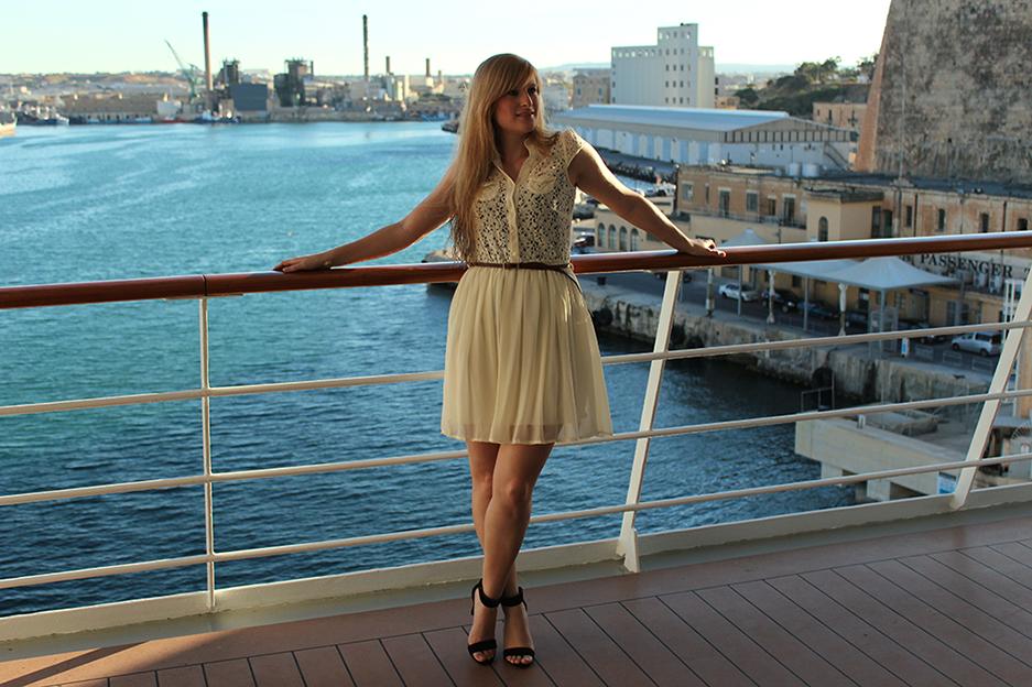 Titelbild Kreuzfahrt MSC Hafen Valetta Fashion Blog