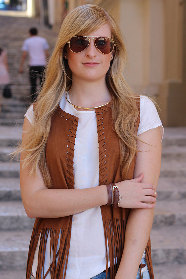2 Wildleder Jacke Sommer Streetstyle Sonnenbrille Malta