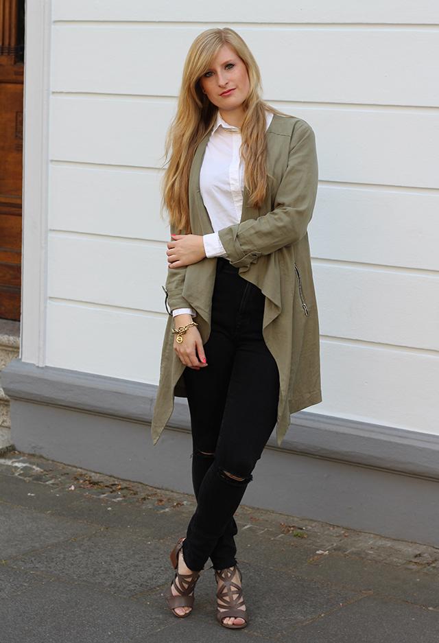 3 Sommerschuhe ootd Modeblog Köln High Waist Zara Jeans schwarz