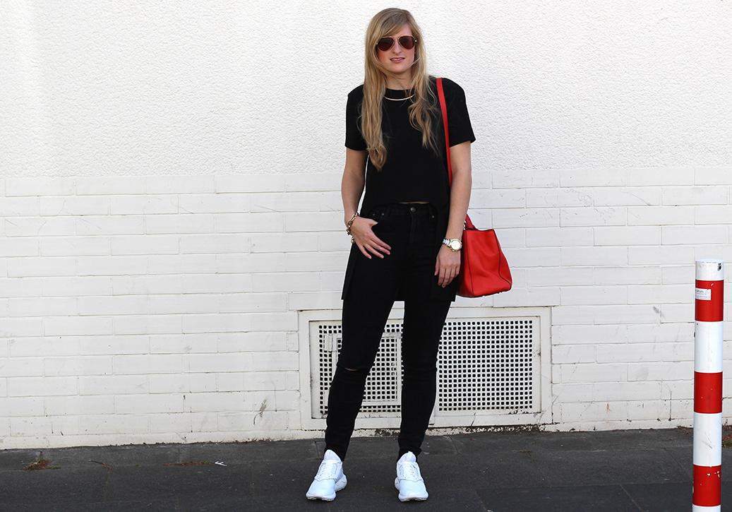 5 weiße Sneaker Adidas ootd Modeblog Köln Zara