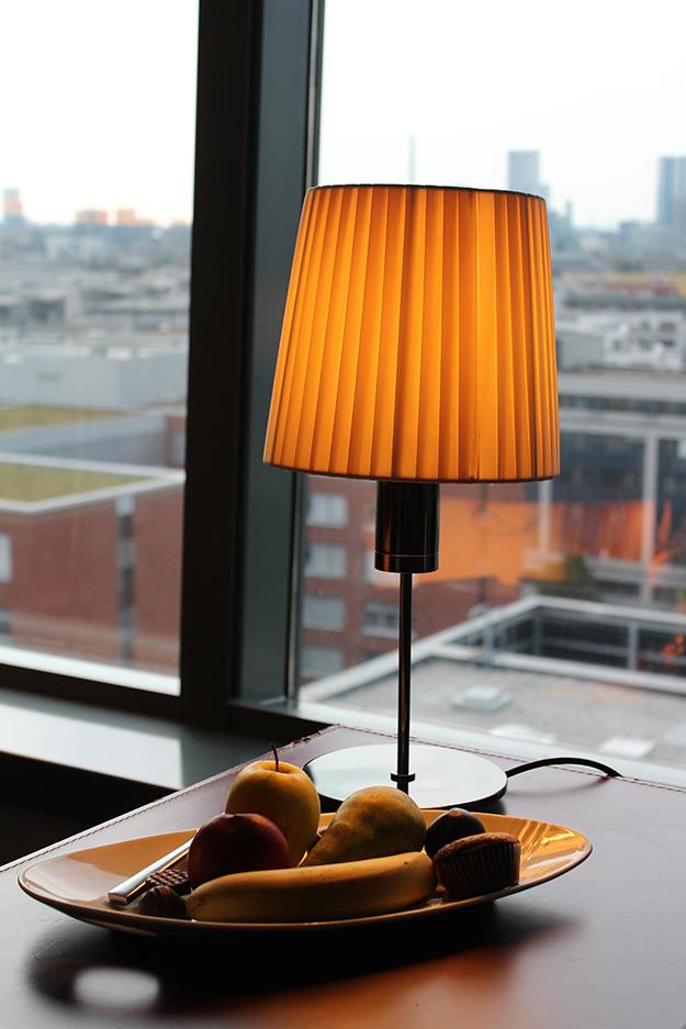 9 Früchteteller Hotelführung Blogger Workshop Executive Suite in Frankfurt