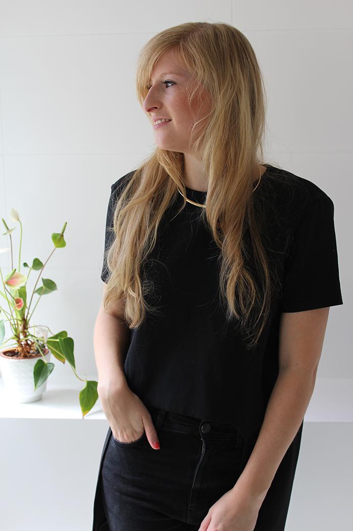 lange Haare Beauty Blog Hairtutorial schnelle leichte Locken Glätteisen