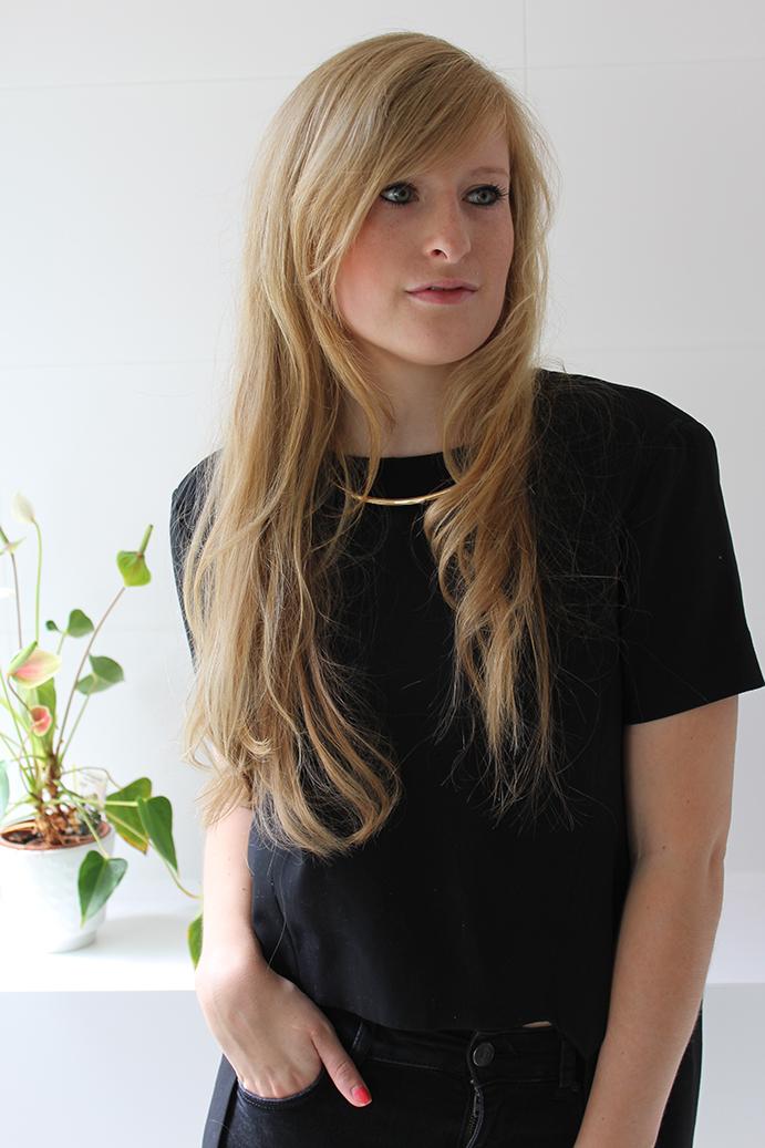 lange Haare Beauty Blog Hairtutorial wenns schnelle Locken Glätteisen