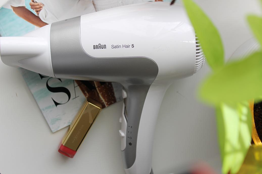 Braun Satin Hair 5 Haartrockner Review test beauty blog