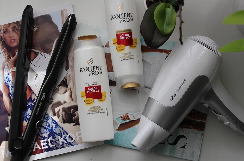 Hairtutorial Beauty Blog Braun Haatrockner und Glätteisen