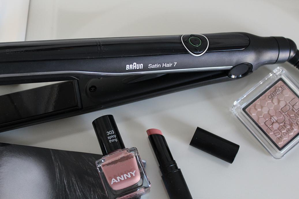 Hairtutorial Satin-Hair 7 Glätteisen von Braun testen