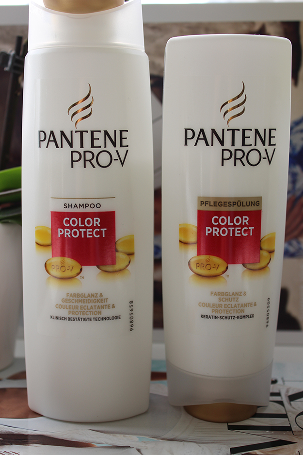 Pantene Pro-V Shampoo Spülung Test Beauty Blog sample