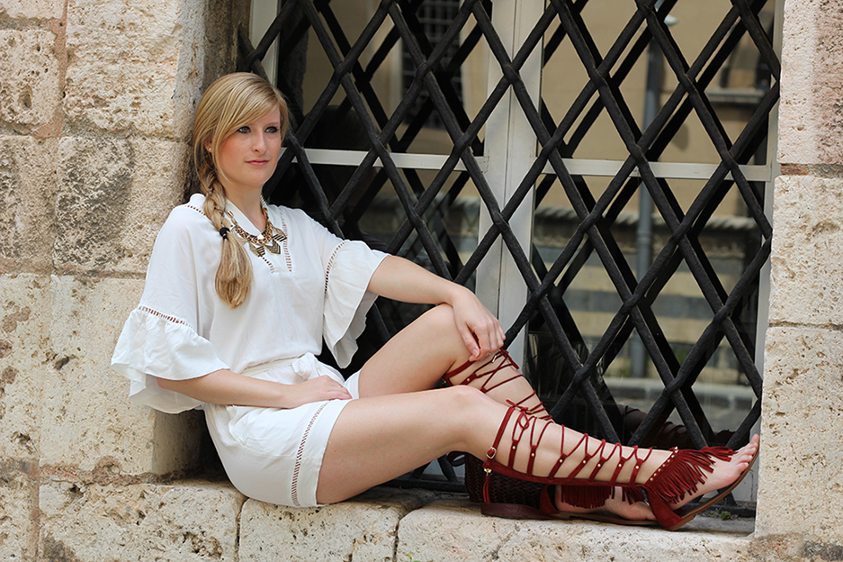 Outfit Messina   Gladiator Sandalen – der bequeme Sommertrend