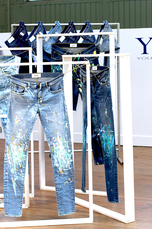 03 Bread and Butter Messe Fashion Week mbfw 2015 Stand Jeans