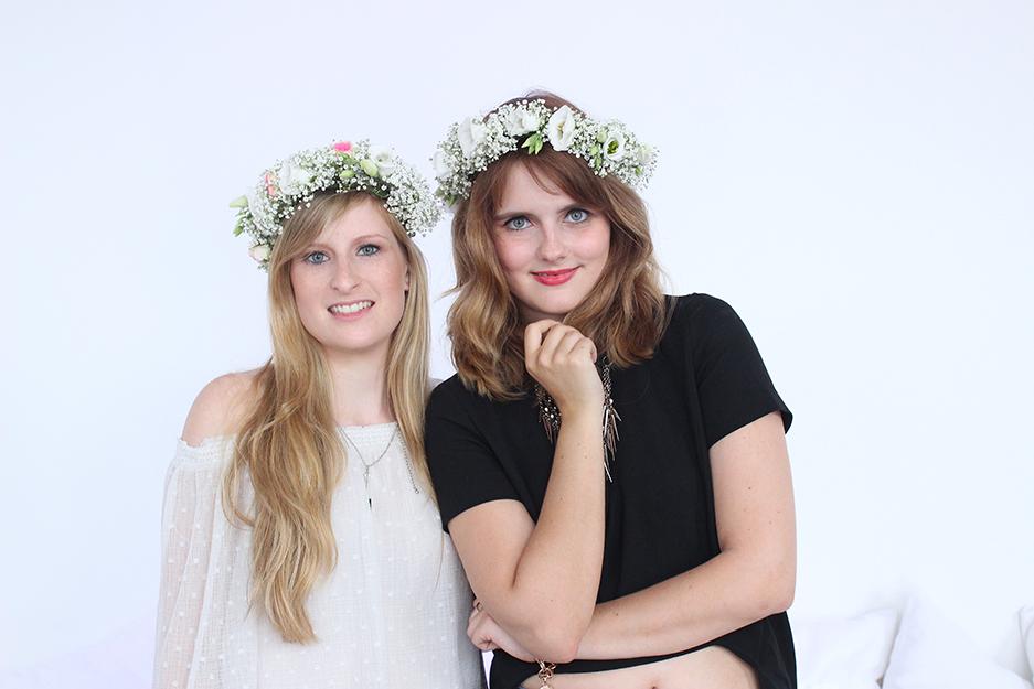 05 Hashmag Blogger Lounge mbfw 2015 Modeblogger Blumenkranz
