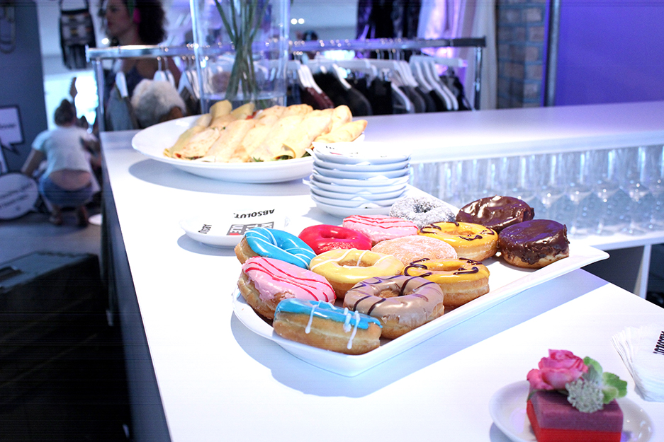 06 Hashmag Blogger Lounge mbfw 2015 Donuts Essen