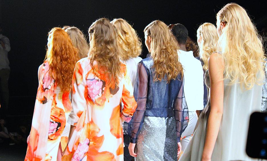 Anja Gockel Fashionshow Amelia Fashion Week Juli 2015 Finale 16